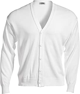 Edwards V-Neck Button Acrylic Cardigan Sweater