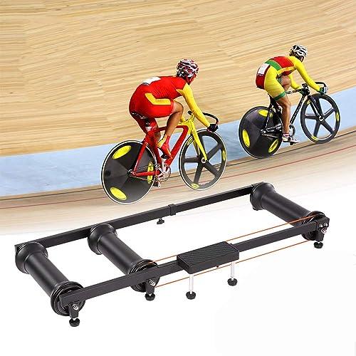 para proporcionarle una compra en línea agradable DDHJHFHF Ciclismo MTB Mountain Mountain Mountain Bike Indoor Training Station Road Bicycle Exercise Station Fitness Cycling Roller Trainer  precioso