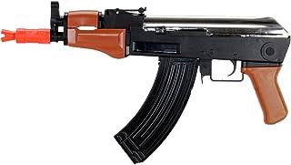 UK Arms P1998B AK-47 Spring Rifle Airsoft Gun (Black/Imitation Wood)