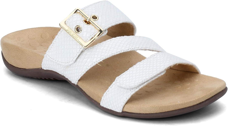 Limited time for free shipping Vionic Women's Rest Skylar Slide Sandal- Walking Sand Adjustable Regular store