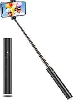 Vproof Selfie Stick Bluetooth, Lightweight Aluminum All in One Extendable Selfie Sticks Compact Design, Compatible with iP...