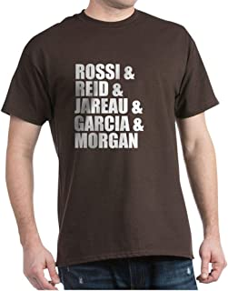 CafePress Criminal Minds Characters Dark T Cotton T-Shirt