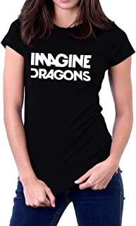 Imagine Dragons Rock Band Logo Women's T-Shirt