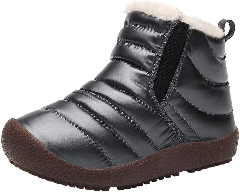 FJWYSANGU Boys Girls Warm Snow Ultra-Cheap Deals Outdoor Shoes Cheap super special price Winter Boots