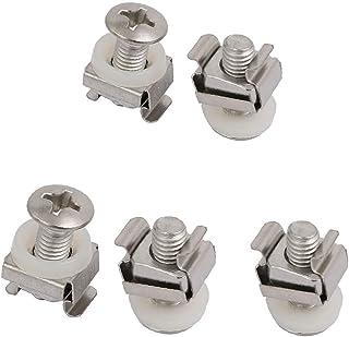 X-DREE 5pcs M6 Cage Nuts w Mounting Screws Washers for Server Rack Shelf Cabinet (7a565de3-a222-11e9-8d7c-4cedfbbbda4e)