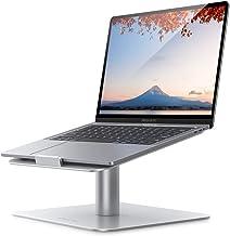 Eono by Amazon - Podstawka pod laptopa, uniwersalna podstawka pod laptopa - 360-obrotowy, ergonomiczny uchwyt na biurko do...