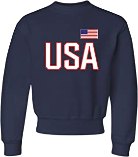 Youth USA National Pride Crewneck Sweatshirt