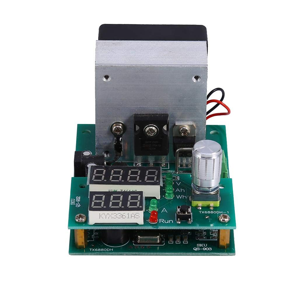 Professional Board Burn-in Test, 9.99A 30V Constant Current Electronic Load Module Battery Capacity Tester 60W Multi-Functional