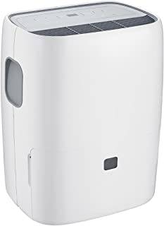 COSTWAY Dehumidifier Humidity Control with Casters Washable Air Filter, Compact and Portable for Damp Air, Mold, Moisture in Home, Kitchen, Bedroom, Basement, Caravan, Office, Garage (30 Pint)