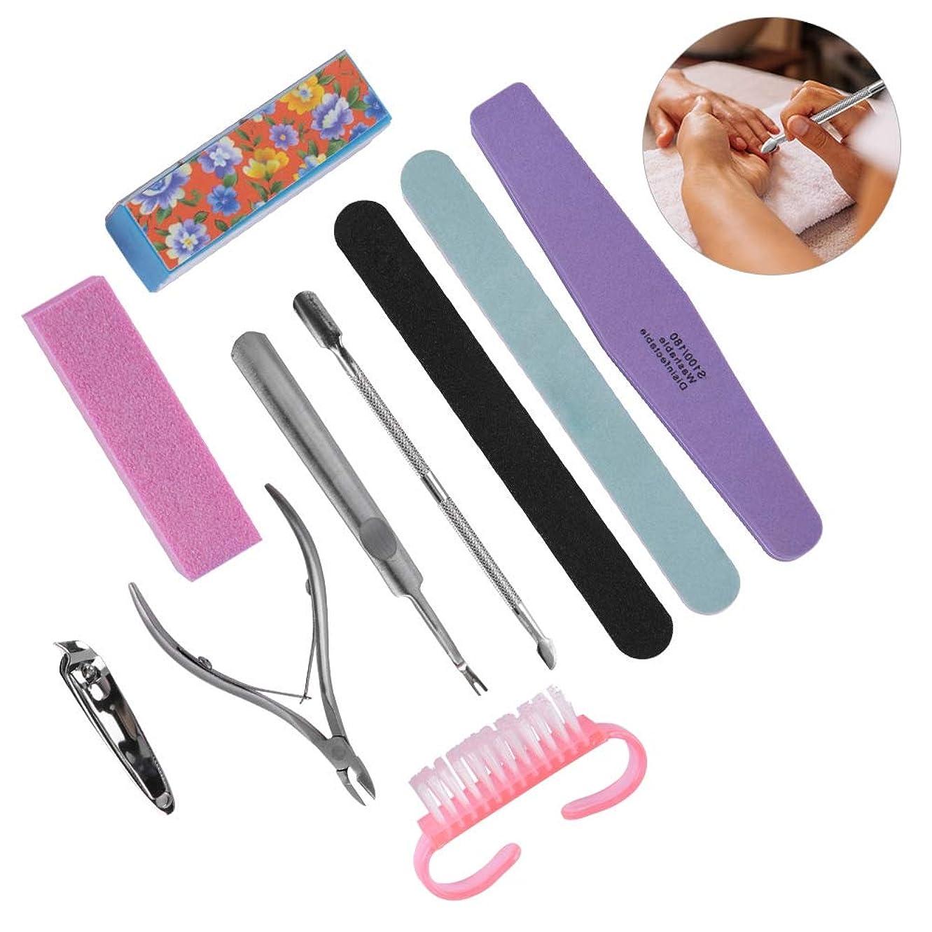 個人的にペチコートオフDuevin 爪切りセット 10点 爪やすり甘皮きり角質取り 陥入爪 変形爪 かかと削り専用 携帯用 男女兼用