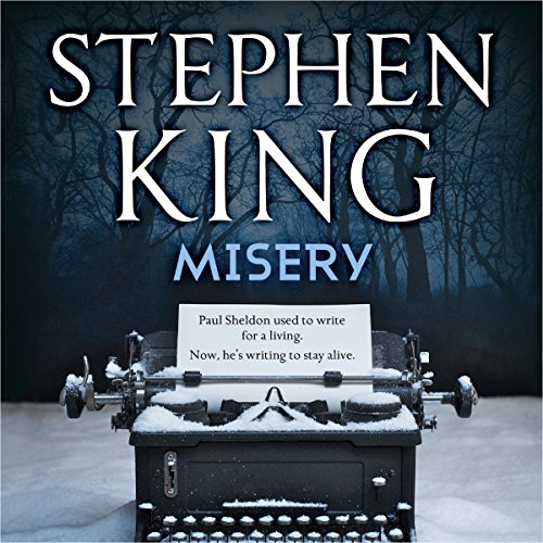 Misery audiobook cover art