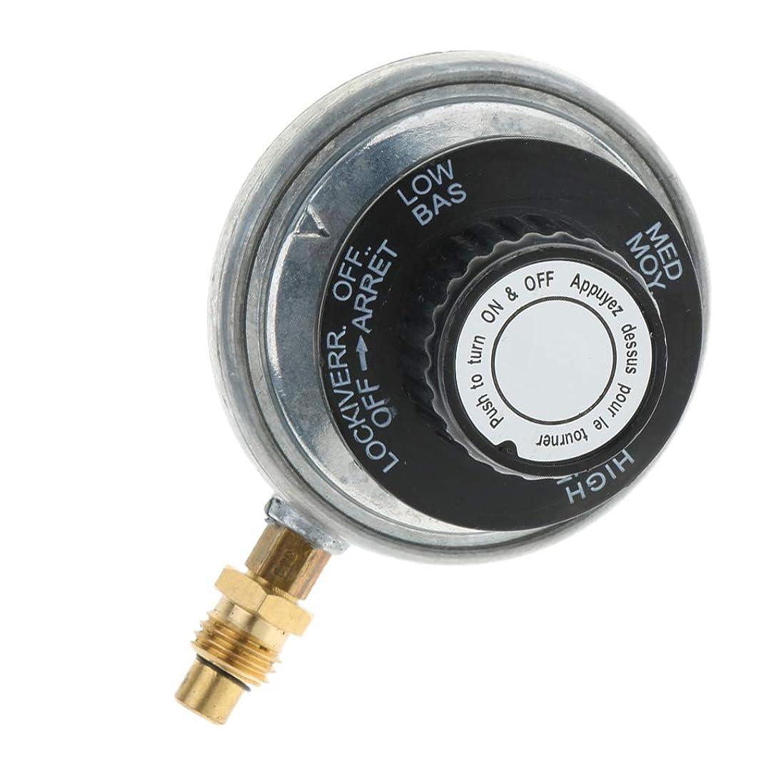 聴衆公平アルバニー1インチ-20UNF プロパン タンク レギュレーター バルブ 亜鉛合金製 高品質 耐久性