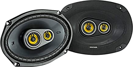 $89 » Kicker 46CSC6934 Car Audio 6x9 3-Way Full Range Stereo Speakers Pair CSC693