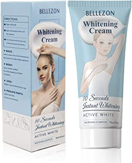 Whitening Cream, Effective Lightening Cream for Knees, Elbows, Armpit, Sensitive Areas, Brightens & Nourishes Repairs Skins (1 Fl Oz)