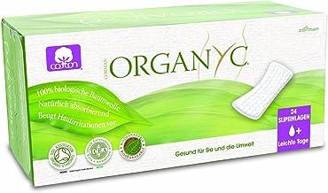 Organyc- Salvaslip 100% material orgánico, 4x24 unidades: Amazon ...