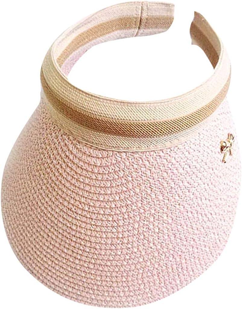 HYSGM Men Max 43% OFF Womens Dealing full price reduction Straw Bucket Hat Summer Empty Fishing Beach Top
