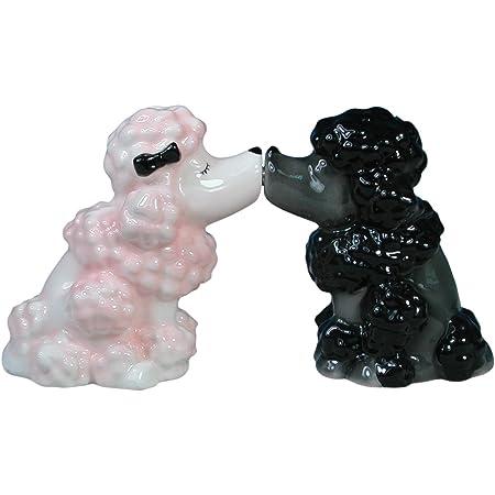 Mwah~WESTLAND GIFTWARE~MAGNETIC KISSING SALT /& PEPPER SHAKERS~TIGERS~