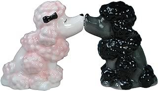 Westland Giftware Mwah Magnetic Poodles Salt and Pepper Shaker Set, 2-3/4-Inch