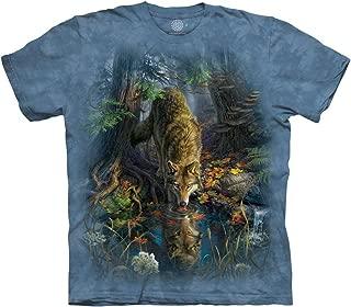 Men's Enchanted Wolf Pool T-Shirt