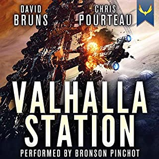 Valhalla Station (A Space Opera Noir Technothriller) cover art