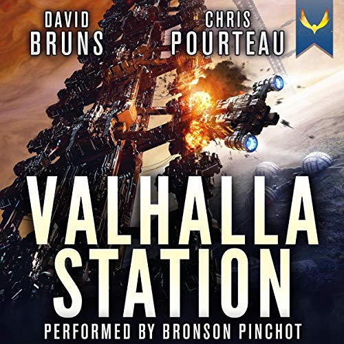 Valhalla Station (A Space Opera Noir Technothriller) audiobook cover art