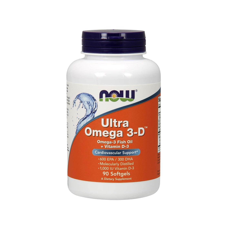 よろしく司法コインランドリーNow Foods Ultra Omega 3-D Softgels, 0.48 Pound