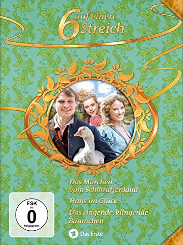 6 auf einen Streich - Märchen-Box Vol. 14: Das Märchen vom Schlaraffenland/ Hans im Glück/Das singende, klingende Bäumchen [3 DVDs]