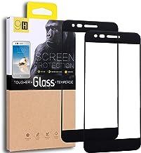 [2-Pack] LG Aristo/LG Phoenix 3 / LG K8 2017 / LG K4 2017 / LG Fortune Tempered Glass Screen Protector, Exact Design Full ...