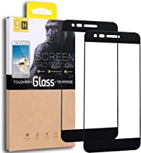 [2-Pack] LG Aristo/LG Phoenix 3 / LG K8 2017 / LG K4 2017 / LG Fortune Tempered Glass Screen Protector, Exact Design Full Screen Coverage, Anti-Scratch, Bubble Free, Lifetime Replacement Warranty