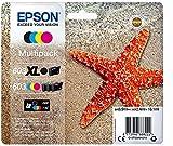 Epson - Cartuchos - Epson Multipack 3 Colores + Negro XL 603 Ink