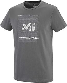 MILLET Rise Up TS SS M T-Shirt, Mens, Tarmac, S