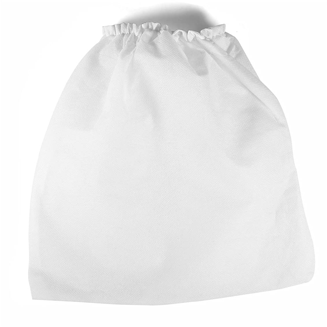 チチカカ湖統計鷹掃除機バッグ、10個の不織布ファブリック高密度ネイルクリーナー交換バッグ、ネイルアートダストコレクションサロンツール用の超広幅弾性バンド付き