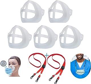 3D Mask Bracket Mask Holder for Adult and Kids, Inner Support Bracket Breathing Protection Lipstick Increase Breathing Spa...