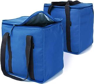 مجموعة حقائب أوربانهاوس ، حقيبة زرقاء / مبرد ، كبيرة