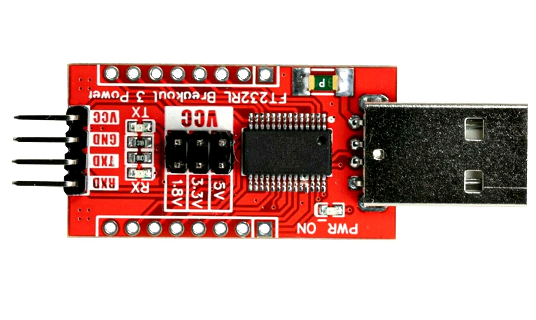 whiteeeen FT232RL USB Type A Male 5V 3.3V 1.8V Breakout Board USB to TTL Module