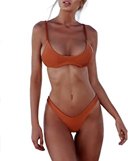 heekpek Bikini Mujer 2019 Push up con Relleno Bikini Bandeau para Mujer Push-Up Vendaje Traje de ba?o Brasile?o Traje de b...