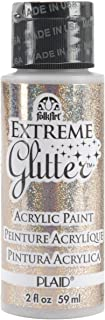 FolkArt Extreme Glitter Acrylic Paint in Assorted Colors (2 oz), 2836, Champagne