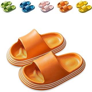 صنادل منزلقة للأطفال، أحذية مائية للأولاد والبنات، نعال لطيفة لحمام السباحة على الشاطئ (الأطفال الصغار/الأطفال الصغار)