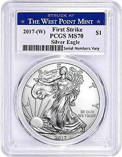 2017 silver eagle set