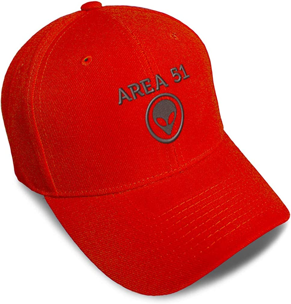 Custom Baseball Popular shop is the lowest price challenge Cap Area 51 Embroidery for Men Women Dad Hats Ranking integrated 1st place