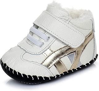 Orgrimmar 男婴*步行者靴软底婴儿学步儿童保暖运动鞋冬季