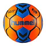hummel Ballon DE Handball Sense Grip Arena (Shocking Orange/Diva Blue, T1)