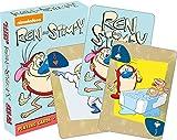 Ren & Stimpy Juego de Cartas Póker 52492