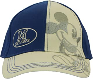 Disney Adult Mickey Mouse Navy and Stone 1928 Embroidered 2 Tone Cap