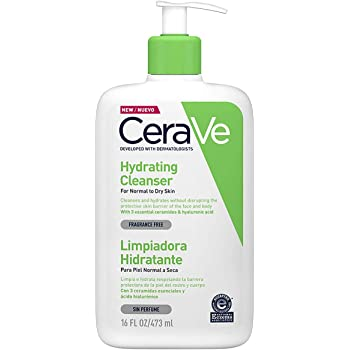CeraVe Moisturizing Cleansing Lotion 473ml, Pack of 1
