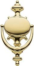 Baldwin Estate 0116.003 Imperial Knocker in Lifetime Polished Brass, 8.5