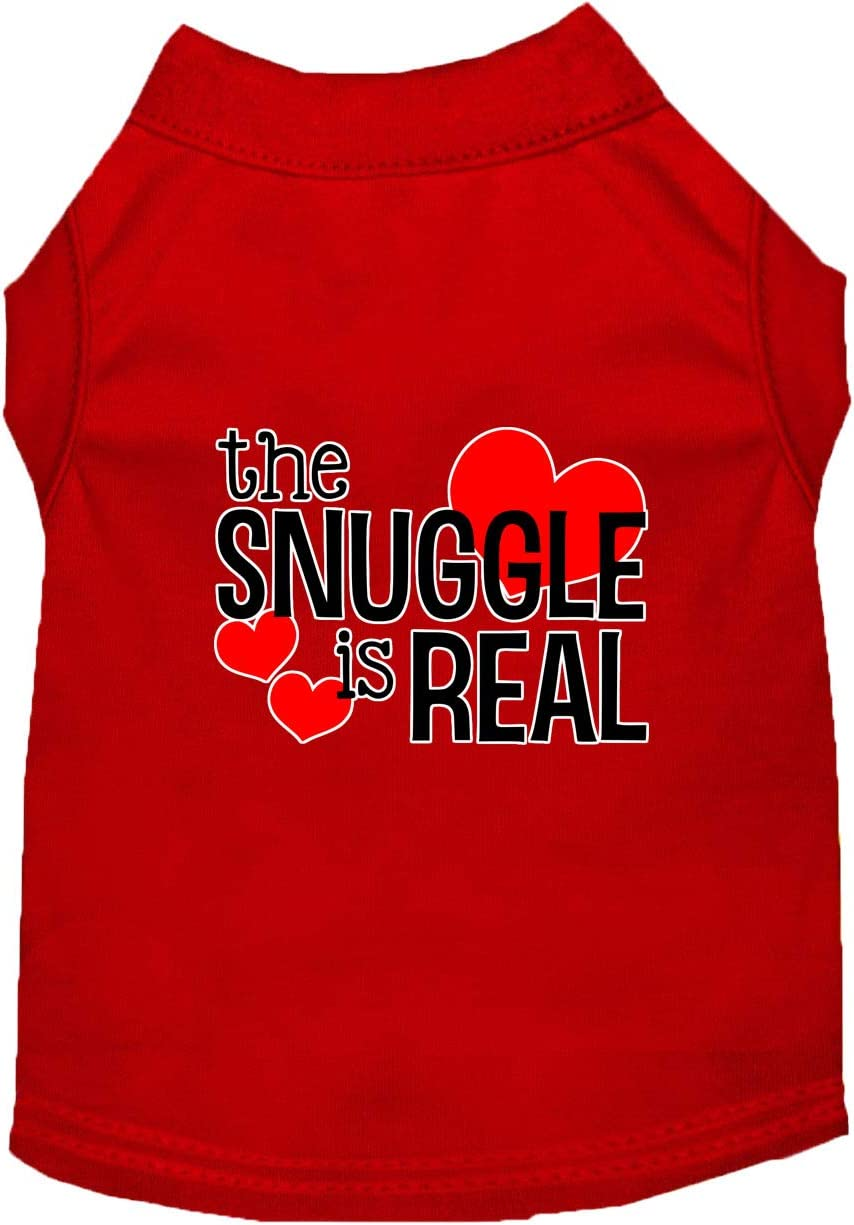 Mirage Pet Product Philadelphia Mall The Boston Mall Snuggle is Screen Print Real Shirt Re Dog