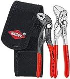 KNIPEX 00 20 72 V01 Mini-juego de alicates en bolsa porta-herramientas de cinturón