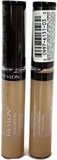 (TWO PACK) Revlon Colorstay Concealer , #03 Light Medium, 0.21 fl. oz.