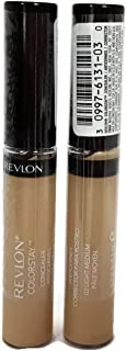 (TWO PACK) Revlon Colorstay Concealer , #03 Light Medium, 0.21 fl. oz.